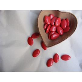 Dragées Chocolat 70% Rouge Vernis