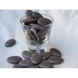 Dragées Chocolat 70% Taupe