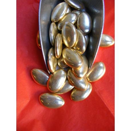 Dragées or noir 500g