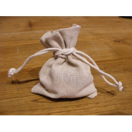 Sachet de 6 pochons couleur naturel