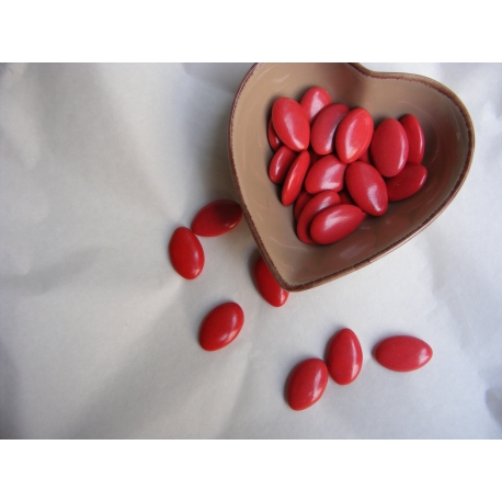 Dragées Chocolat 70% Rouge Christhmas